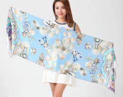 Silk Schal und gedruckter Schal und Kaschmir-Schal und Abblasdämpfer