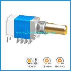 Potentiomètre rotatoire de vente chaude avec le commutateur pour le matériel sonore