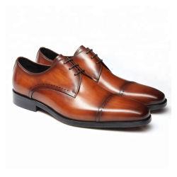 De forma elegante com padrões de requintados Derby Calçados Homens