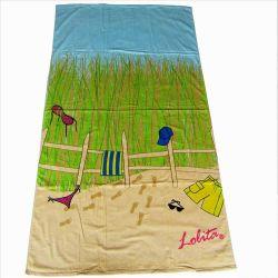 100% хлопок пляж полотенце