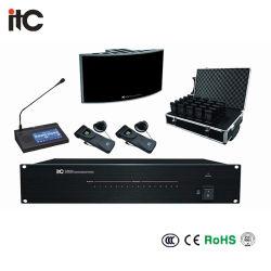 デジタル無線電信IRの同時解釈の赤外線受信機の会議システム