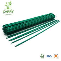 Suporte de Flores vegetal biodegradável descartável Bamboo Stick decoração de jardim