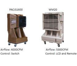 Restaurant/atelier/entrepôt etc. évaporation Portable refroidisseur à air avec réservoir d'eau de refroidissement de la Chambre se vend bien dans le marché américain