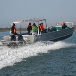 Aluminiumlastkahn-Boote des CCS Standard-11m für Verkaufs-Landung-Fertigkeit-Frachtschiff