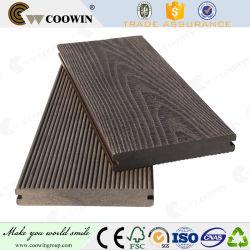 タングおよび溝 25mm 複合材木製プラスチック製滑り止めデッキ
