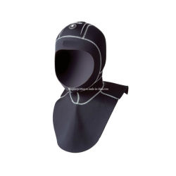 Schwarze Neopren-Kapuze für Diving Sportswear