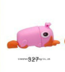 형식 Cute Christmas PVC 16GB 3.0 USB Flash Drive (HBU-274)