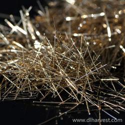 Acier recouvert de cuivre micro fibre pour béton en poudre réactive