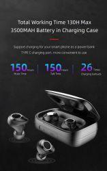 Draadloze Belasten van de Controle van de Aanraking van Earbuds van de Grootte van Tws Bluetooth5.0 het Hifi Stereo Mini Waterdichte met de Bank van de Macht