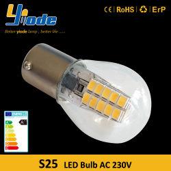 El interior de la luz de LED SMD 2835Ba15s 220V 2W 160 Lumen