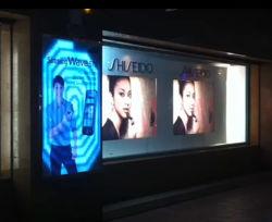 Динамическая светодиодная лампа рекламы в окне Индикатор знак для рекламы