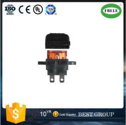 Plug-in coche Portafusibles macho mediano en el portafusible de cuchillas tipo Montaje PCB portafusibles