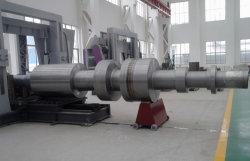 NAAI 555 de 28CrMoNiV4-9/28CrMoNiV4.9/1.6985 Gesmede Schacht van de Rotor van de Turbogenerator van de Stoom van het Gas van het Staal van het Smeedstuk