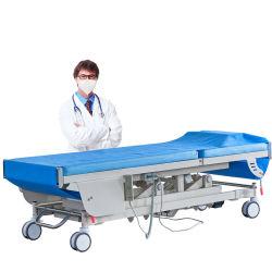 病院使い捨て可能な装飾的な医学ロールMicrofiberの検査のベッドのペーパーシートロール