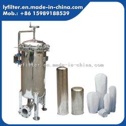 SS304 et le sac de SS316 Boîtier de filtre en verre pour la bière de surface de filtration de polissage