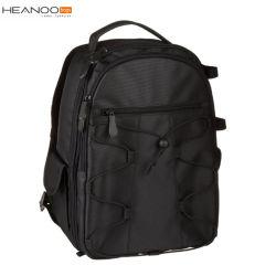 Sac ergonomique fondamental noir d'appareil-photo du contrat DSLR de Digitals de modèle de sac à dos