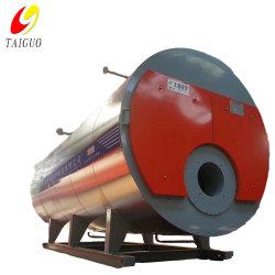1 à 20 tonnes de pétrole Gaz tiré Three-Pass chaudière à vapeur industrielle horizontale