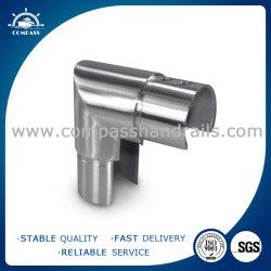 Encaixe a conexão de tubo/ ranhura do conector de tubo/ Montagem do Corrimão