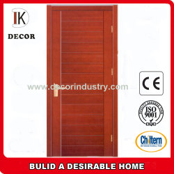 Le teck et acajou Oak//USA cerisier/Okoume Sapele//placage de noyer couverts finition lisse Portes en bois solide dalle interne