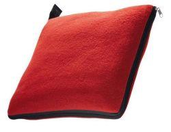 2 en 1 Forro Polar Manta de viaje y la almohada Set
