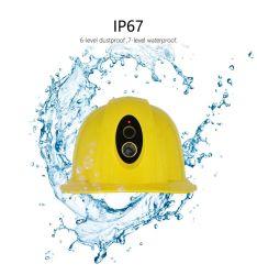 4G de Camera van de Helm van de Veiligheid van de bouw met GPS Camera van WiFi van de Monitor van de Functie de Bidirectionele Audio en Levende Stromende Harde Hoofd