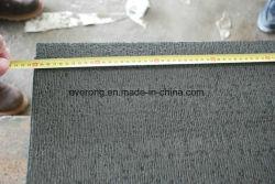 中国の自然な玄武岩の石、玄武岩のタイル、のみで削られた表面が付いている黒い玄武岩