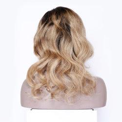 Colore trasparente personalizzato di Ombre della parrucca dei capelli umani HD del Virgin dei capelli stato allineato cuticola piena del Virgin della parrucca del merletto