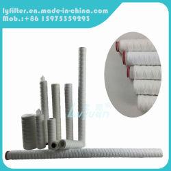 40-дюймовые 1 мкм PP пряжи String рана элемент фильтр для фильтрации осадков