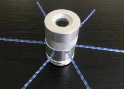O alumínio a cabeça do aparador (Th003 com marcação)