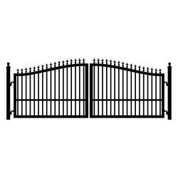 Designs de portão principal de ferro/ Porta Exterior amplamente utilizado para residência, área pública, infra-estrutura