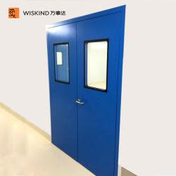 Favo de alumínio branco dupla porta para salas brancas para operação de cinema em casa