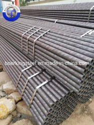 أسود أنتاليتASTM A210 DIN 1629/4 كربون ألوي مستدير أنبوب فولاذي