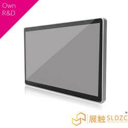 شاشة فيديو لإعلانات LCD يتم تشغيلها بواسطة بطارية 1080p