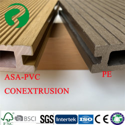 PEのデッキより極度の酸化防止剤に床を張るEcoの木製の共押出し