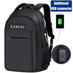 Zaino di nylon di anni dell'adolescenza del sacchetto della scuola secondaria con il connettore del USB