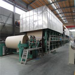 Boîte de papier ondulé Machines de fabrication de carton avec une capacité de la machine de recyclage de ferraille pour 30T/D