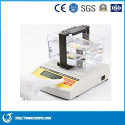 Tester di densità dell'oro/tester metallo prezioso/strumento del laboratorio
