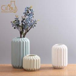 도매 현대 창조적인 기하학적인 세라믹 꽃 화병