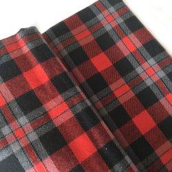Venda por grosso de fábrica 100 % algodão tingidos Plaid tecido flanela para Pajama Camisa