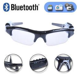 Bluetooth MP3 Sport lunettes polarisées caméra extérieure de l'enregistreur vidéo Le port de lunettes les lunettes de soleil