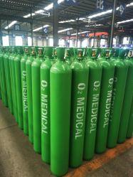 50L 200 бар ISO Tped большой сосуд высокого давления бесшовных стальных кислорода с Cga540 клапан газового баллона