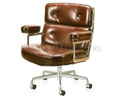 (SZ-139R) Luxury Geninue Real Leather Swivel Leisure Office Robin cadeira no átrio