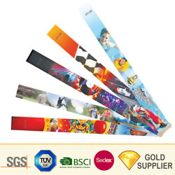 Professional Custom Logo Printing Tivek Label Only Use RFID Solid Tyvek Paper Bs Bracelet Wistband Pouch Bags for Ticket Hospital Medical Health Care