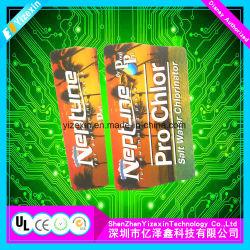 Panneau tactile de la membrane sensible avec des photos d'affichage flexibles