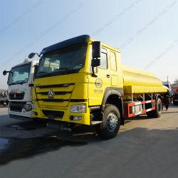 Utilizado caminhões HOWO 336HP 6*4 20cbm Veículo Óleo/Combustível caminhão tanque