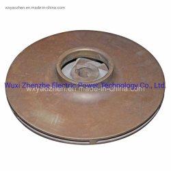 Acier inoxydable/bronze/laiton/cuivre/Rotor de pompe à turbine faite par moulage à modèle perdu/cire perdue/moulage de précision/coulage en sable de moulage