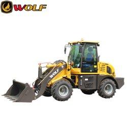 Minipala caricatrice Wolf con capacità della benna di 0,7 m3 e caricatore da 1200 kg