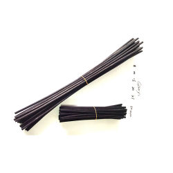 Black rotin diffuseur de parfum Reed de l'huile de bâtonnets de remplissage de remplacement partie Chambre à Coucher Une Salle de bains Décoration d'accueil Cadeaux