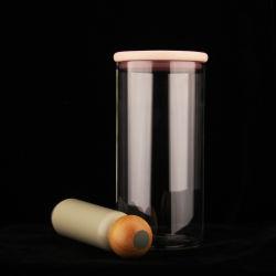 Vidrio de borosilicato de alta el sello hermético Conister Pot