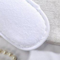 Venda por grosso de luxo da marca Intercontinental EVA laváveis biodegradáveis interior Terry Hotel descartáveis de pantufas Logotipo com